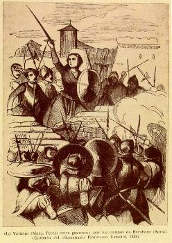 Grabado del Semanario Pintoresco Español, 1848 (Archivo Histórico Provincial de Soria)
